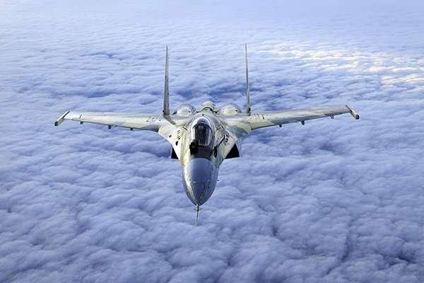 Российский истребитель СУ-35: Технические характеристики и удивительный высший пилотаж!-3 фото + 1 видео-