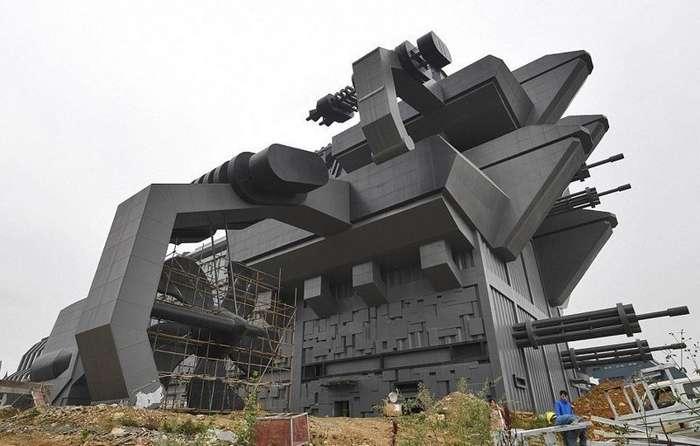 В Китае завершается строительство первого в мире парка виртуальной реальности-10 фото-