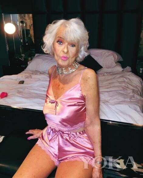 Самая модная бабушка интернета Бадди Винкл!-29 фото-