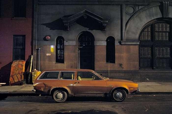 Подборка припаркованных -старичков- с улиц Нью-Йорка от фотографа Лэнгдона Клэя-56 фото-