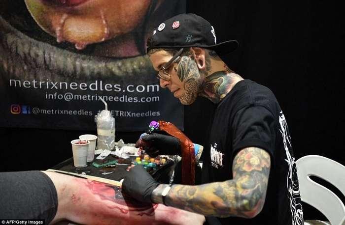Австралийский фестиваль татуировки-2017: как это было-22 фото-