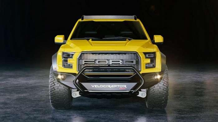 Шестиколесный Ford Hennessey VelociRaptor-7 фото-