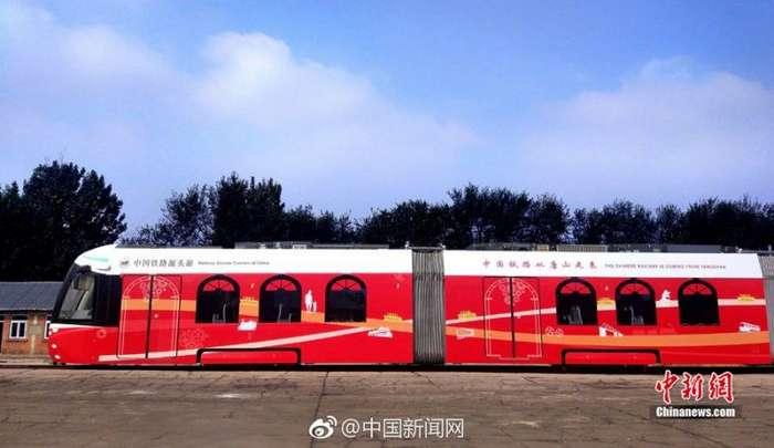 В Китае запустили первый в мире водородный трамвай-4 фото-