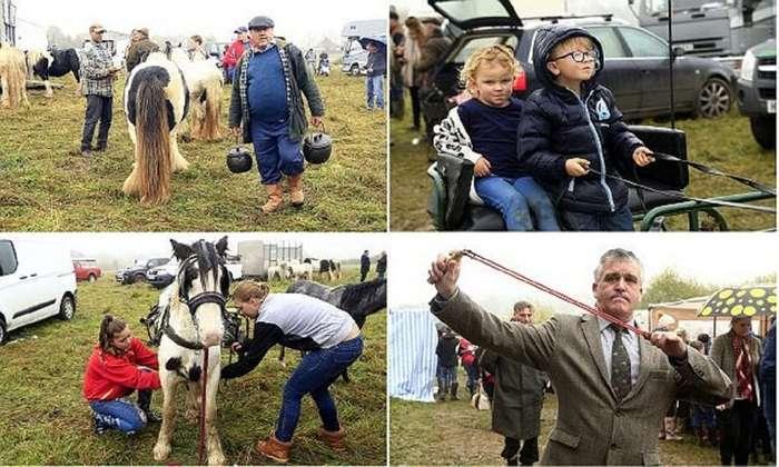 Цыганская ярмарка: все как 500 лет назад!-17 фото-