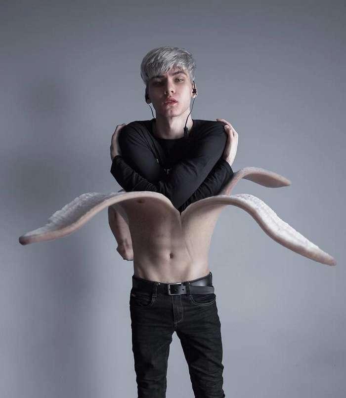18-летний парень из России создает работы в стиле Темный сюрреализм-23 фото-