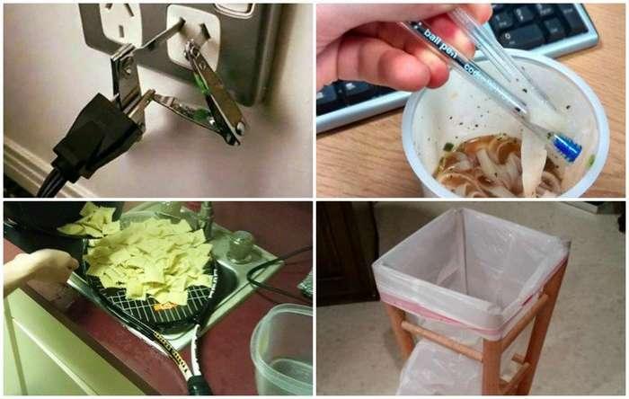Безумно или гениально? 18 изобретений из подручных средств-19 фото-