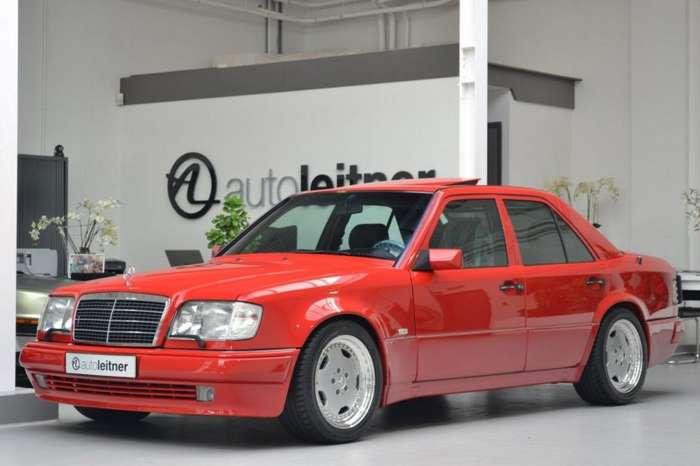 Старый Mercedes W124 по цене нового S-класса-19 фото-