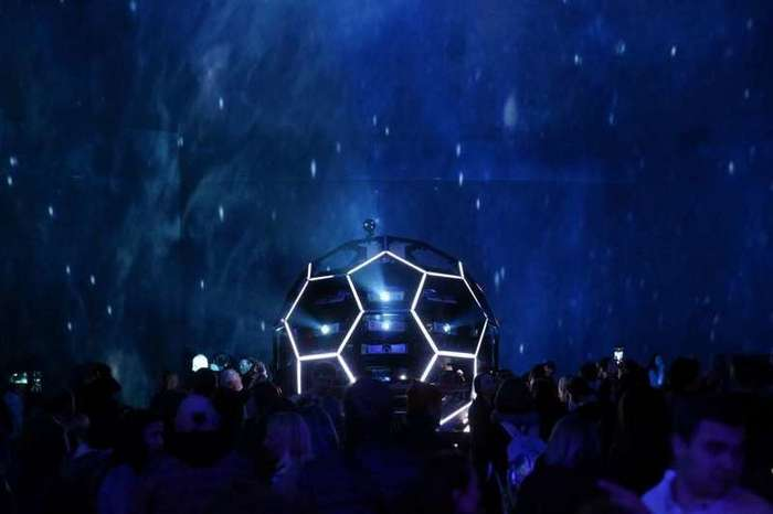 В Петербурге открылся крупнейший в мире планетарий-10 фото-