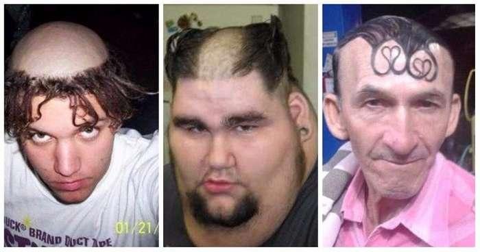 А ведь они за это издевательство над волосами еще и денег немало заплатили-15 фото-