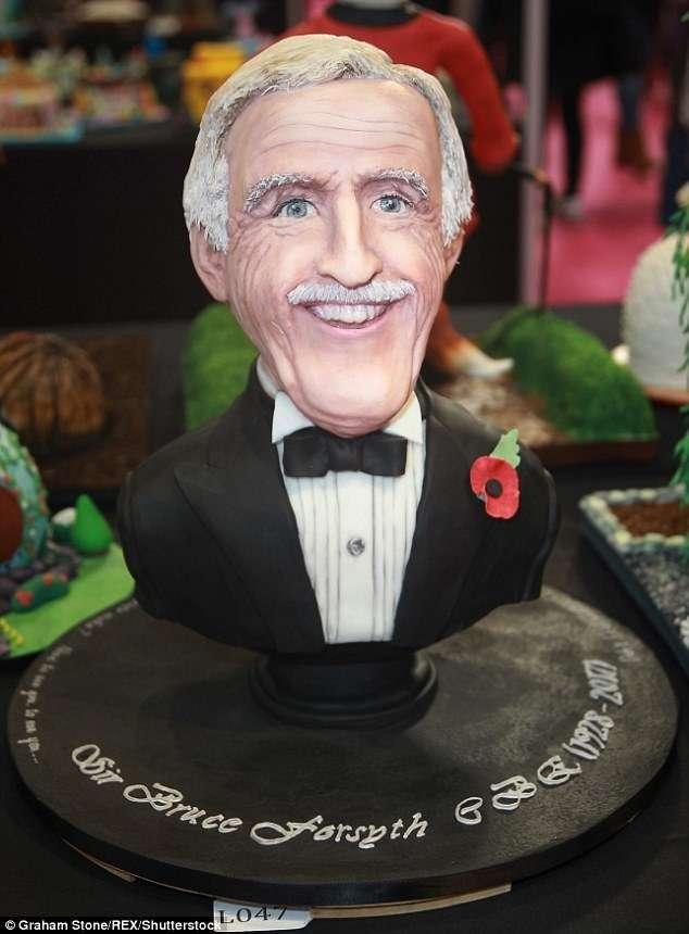 По-настоящему звездные кондитеры: необычные торты с выставки Cake International-16 фото-