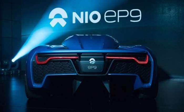 Китайские инженеры представили мощный электрический гиперкар nextev nio ep9-6 фото-