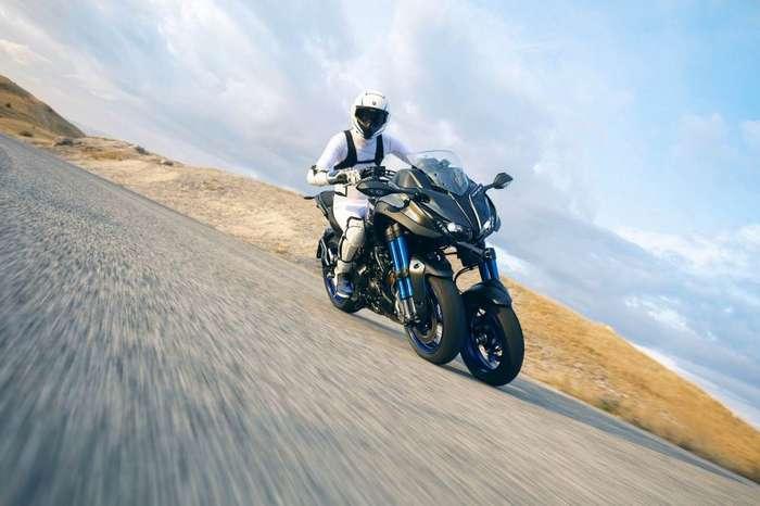 Новый трехколёсный мотоцикл Yamaha Niken-30 фото + 1 видео-