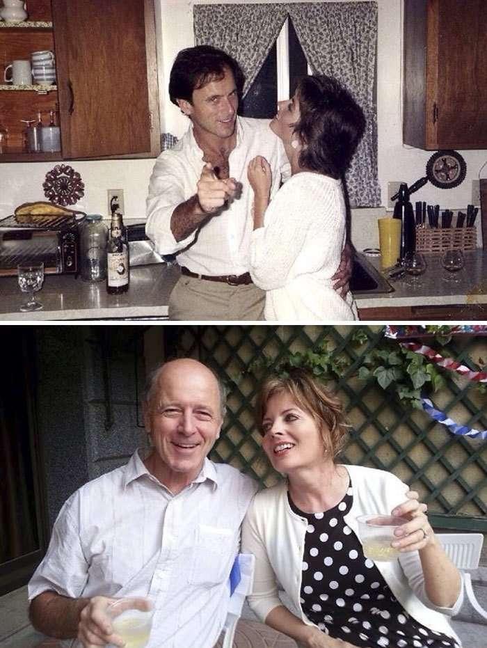 Семейные пары, доказывающие, что настоящая любовь длится вечно-11 фото-