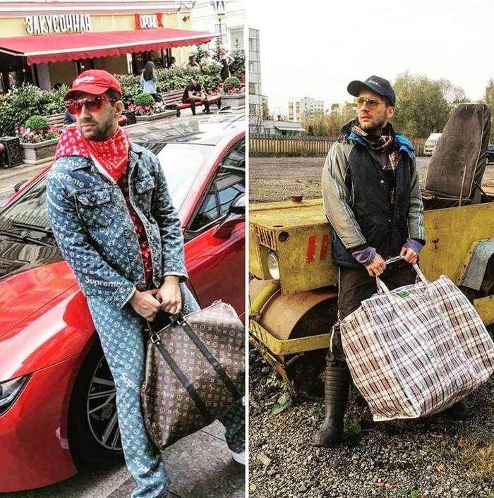 Чем нелепее - тем смешнее: парень из Москвы развивает -бытовой- косплей-36 фото-
