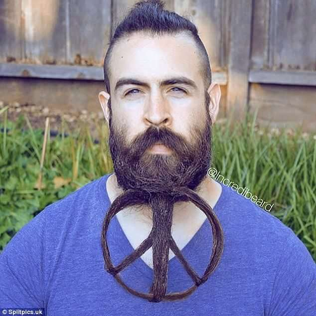 Усачи и бородачи демонстрируют предмет своей гордости-15 фото-