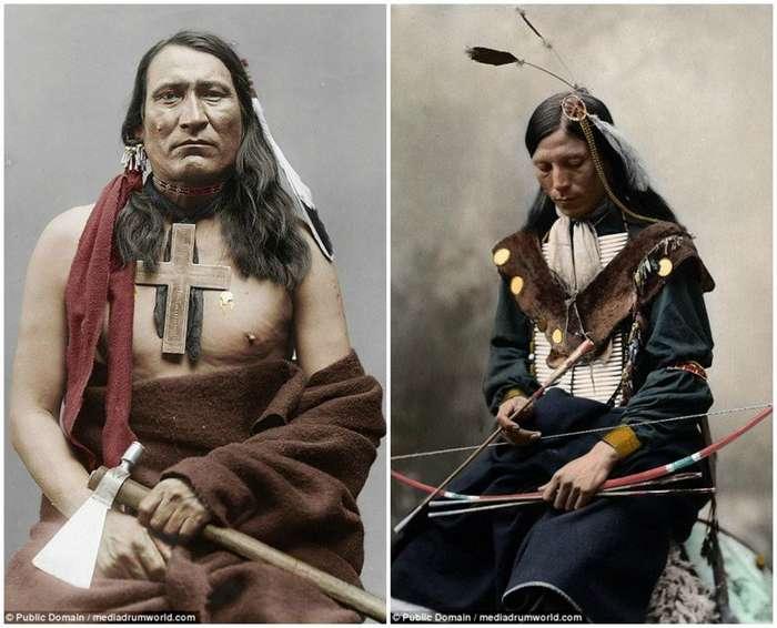 Шайенны — индейцы, воевавшие с армией США: исторические фото-18 фото-