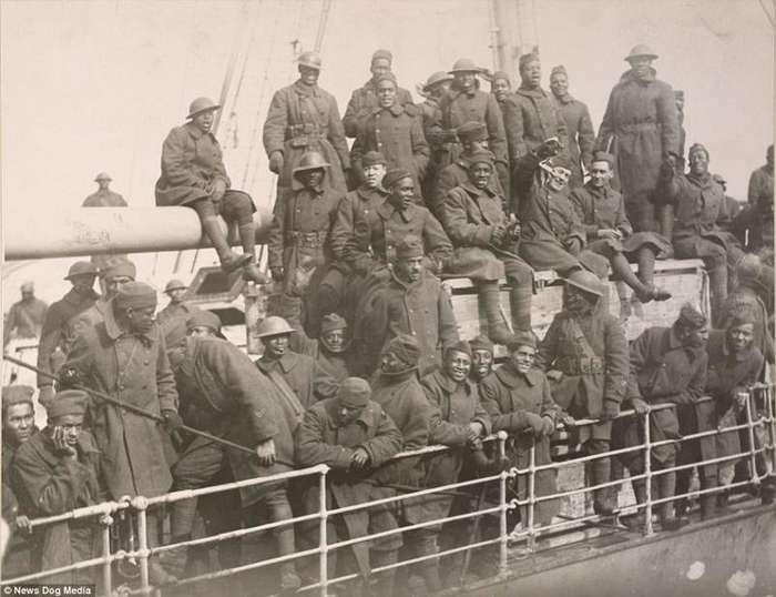 Борьба за уважение: афроамериканцы, которые сражались в Первой мировой войне-21 фото-