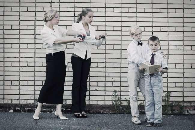 Обратная сторона материнской любви-17 фото-