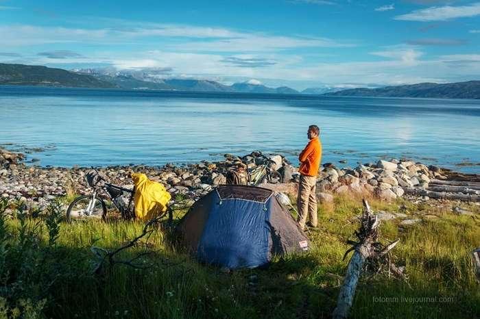 Норвежский велотрип-42 фото + 1 видео-