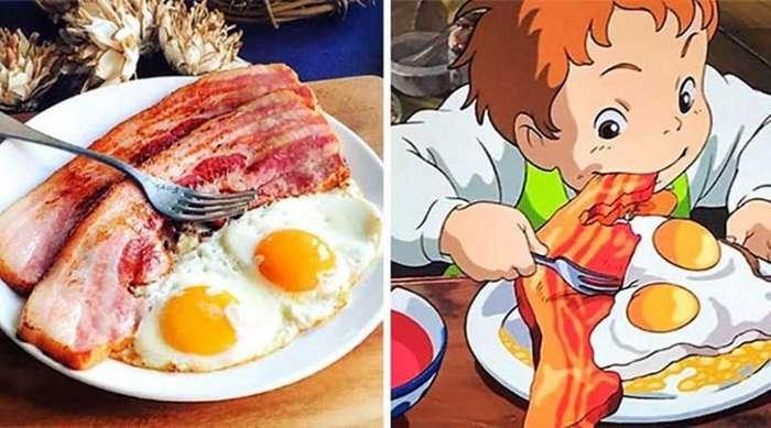 Женщина из Японии воссоздает блюда из мультфильмов Хаяо Миядзаки-18 фото-