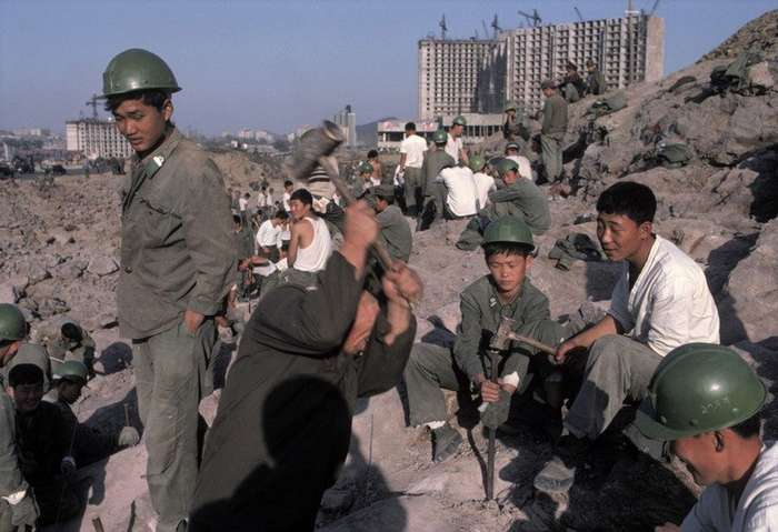 Жизнь в Северной Корее в 1979-1987гг-66 фото-