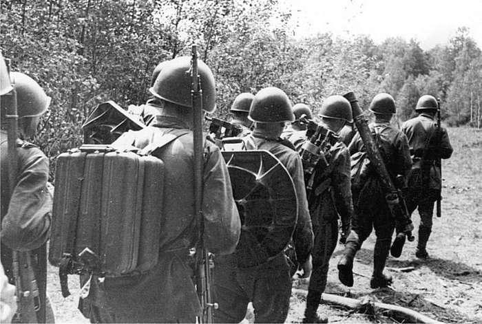 Минометчики РККА-32 фото-