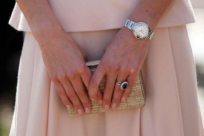 Стало известно, почему Кейт Миддлтон никогда не появляется на публике с накрашенными ногтями-7 фото-