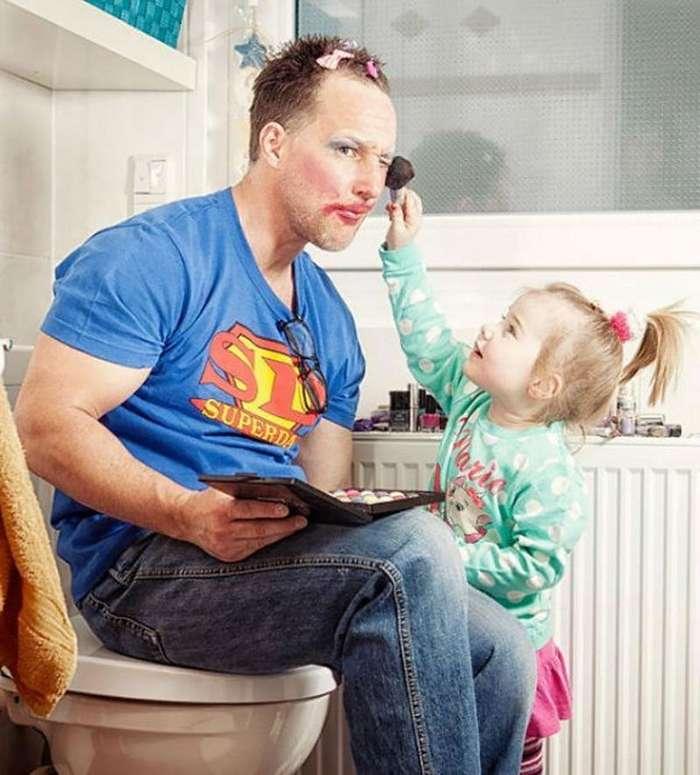 Папина дочка - когда она для тебя весь мир-26 фото + 1 видео-