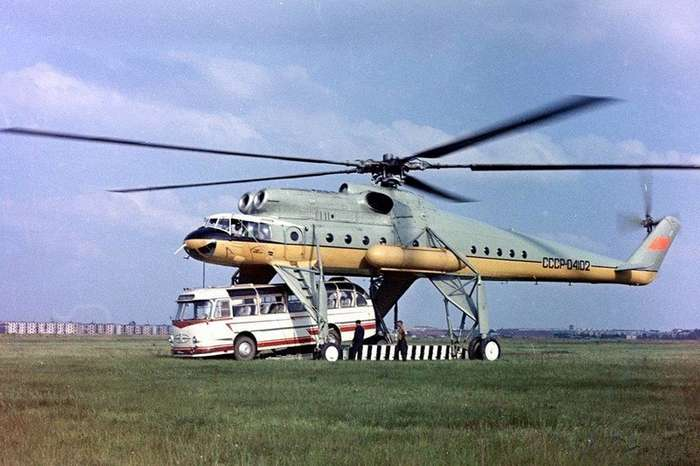 Отечественные вертолеты-10 фото-
