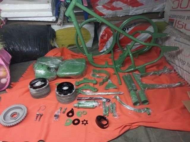 Реставрация мотоцикла Ковровец-18 фото-