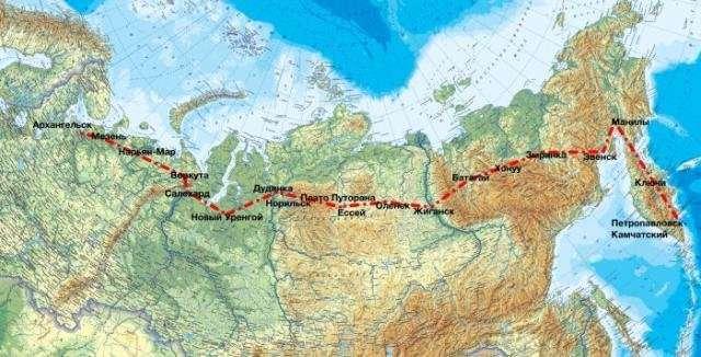 Экспедициия -На восток!-. На вездеходах-амфибиях -Шерп--32 фото-