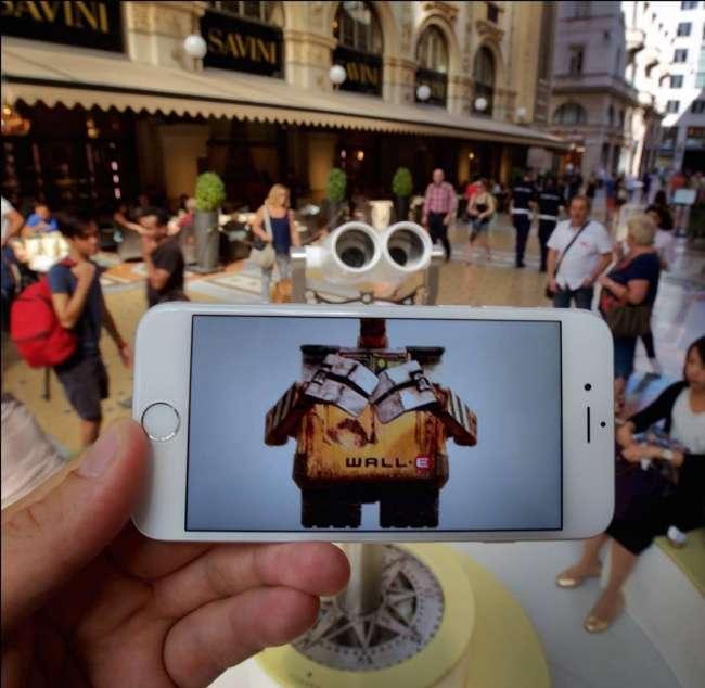 22фото, накоторых мир кино смешивается среальностью