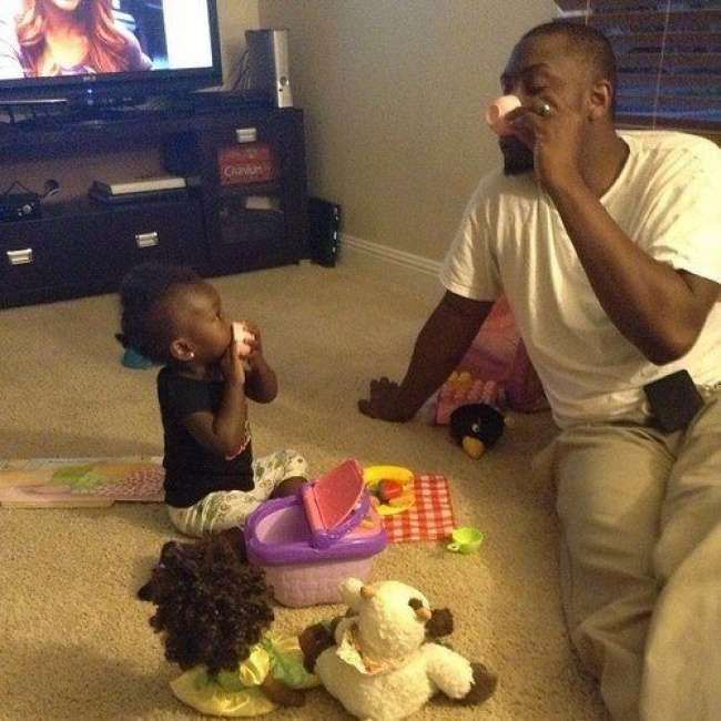 19трогательных примеров, когда папа неменее крут, чем мама