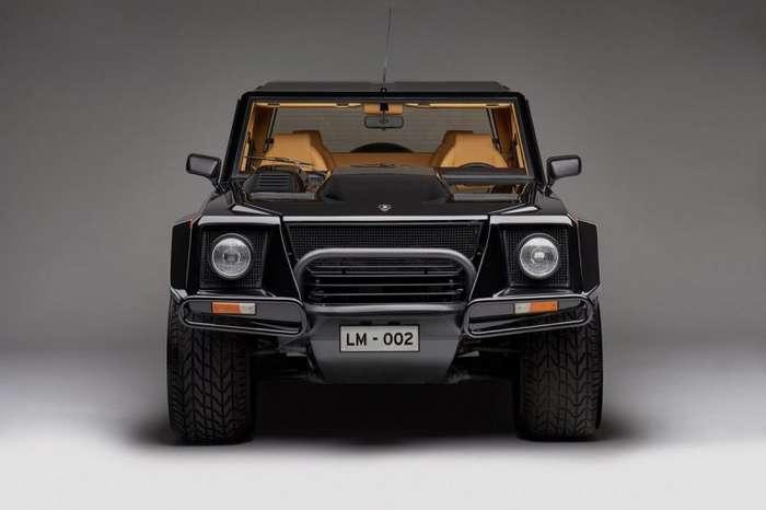 Lamborghini LM002 - кирпич с 12-ю цилиндрами-15 фото-
