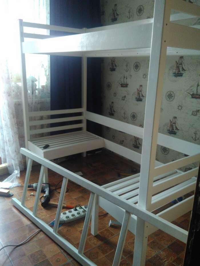 Как я кровать сыну запилил-32 фото-