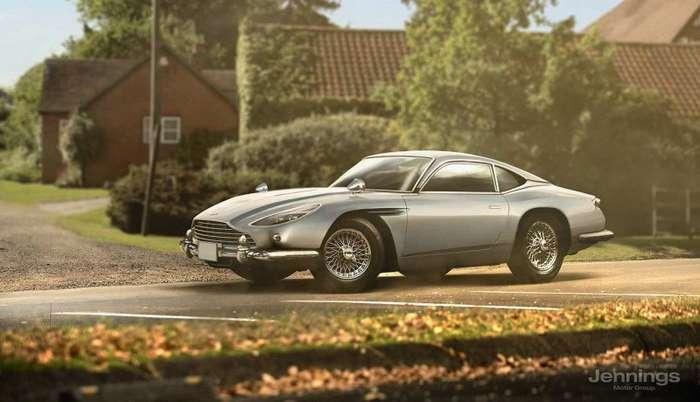Ретро-версии современных автомобилей-7 фото-