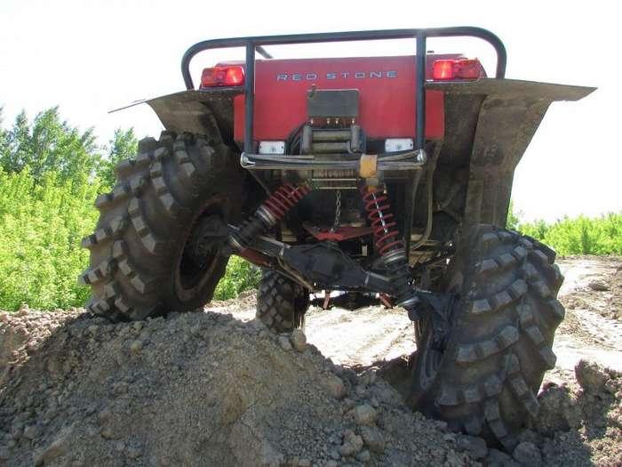 Квадрокар -Red Stone- из старенькой Нивы-13 фото + 1 видео-