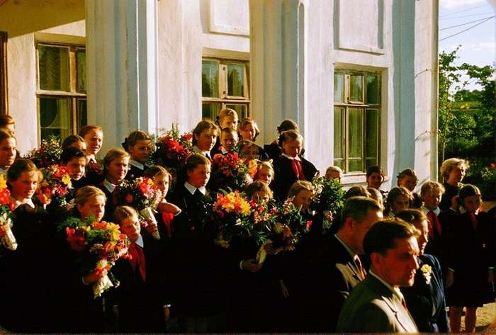 Москва в 1956 году. Фоторепортаж-33 фото-