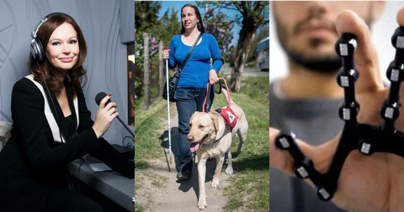 О тех, кто помогает слепым видеть, а глухим слышать-5 фото + 6 видео-