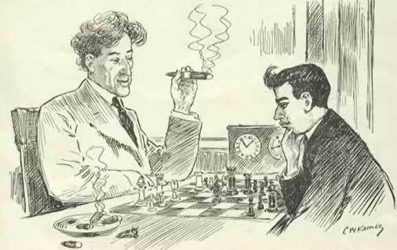 Хосе Рауль Капабланка, третий в истории шахмат чемпион мира-10 фото-