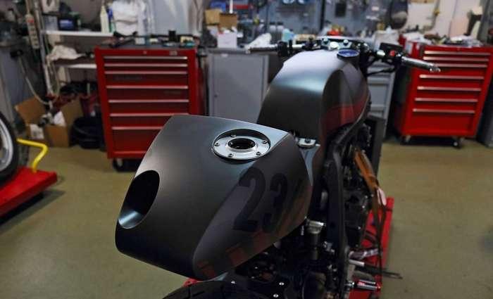 Komaha: кастом-проект на базе Yamaha VMX-1700-23 фото-