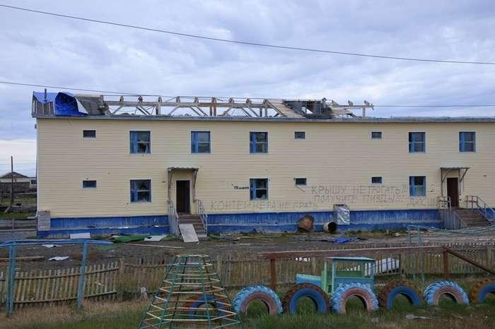 Чукотское село, о котором не принято говорить-22 фото-