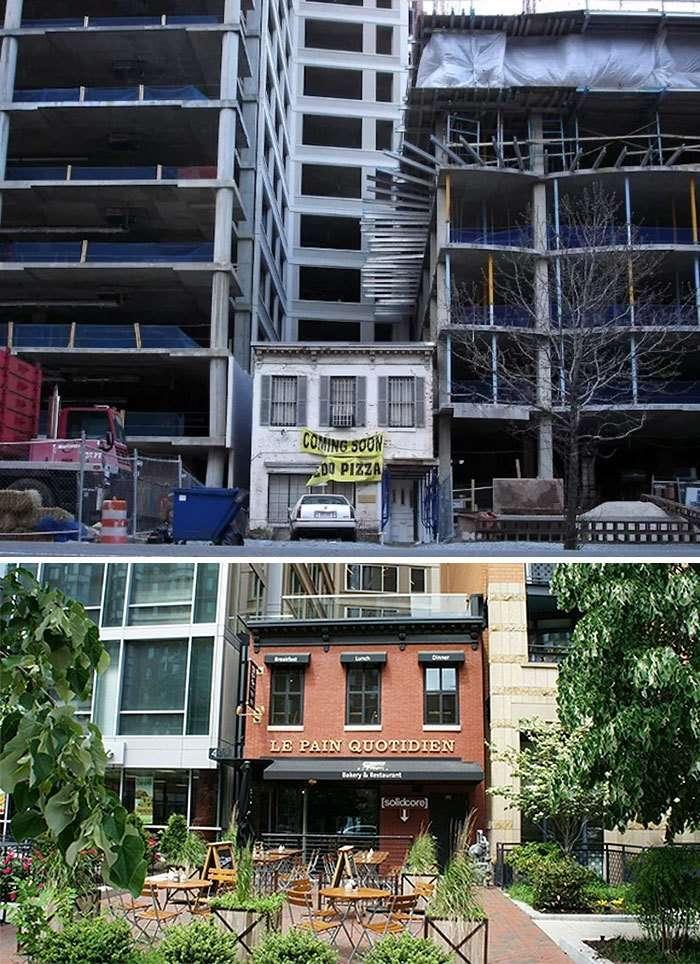 25 упрямых домовладельцев, которые отказались переезжать-25 фото-