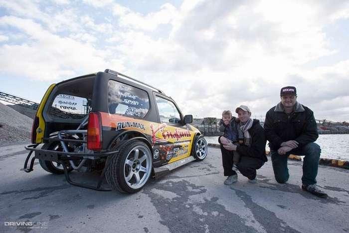 Suzuki Jimny - бешеная табуретка-20 фото + 1 видео-