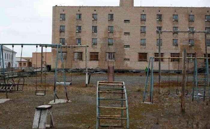 Город-призрак из СССР на краю света-7 фото-
