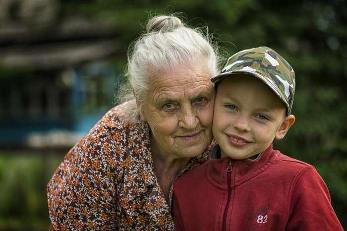 Бабушка Ева-1 фото-