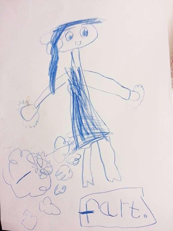 18 детских рисунков и записок, раскрывающих тайны родителей-19 фото-