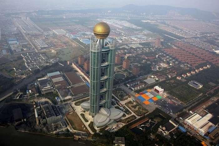 Коммунизм наяву: китайская деревня, в которой каждый житель - миллионер-18 фото + 1 видео-