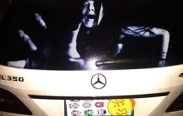 Стикеры на машины, -для- любителей дальнего света-7 фото + 1 гиф-