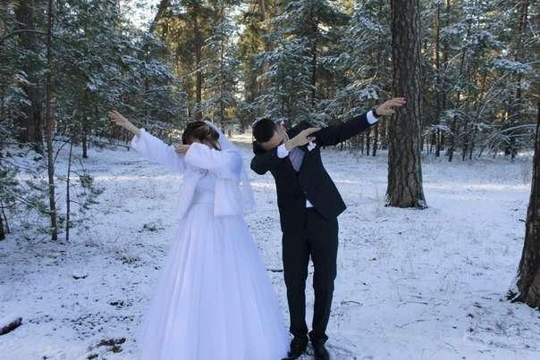 Свадебные фотографии, которые стоит спрятать подальше от всех-28 фото-
